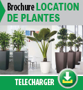 Brochure location de plantes
